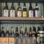 日本酒、焼酎なども販売。